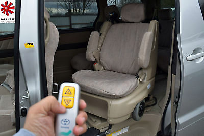 TOYOTA ALPHARD 2.4 VVTi Automatic Disables Pull Away Chair Elgrand Estima MPV