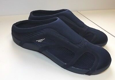 Mens Navy Or Black Active Sport Slippers Various Sizes New, Sim222