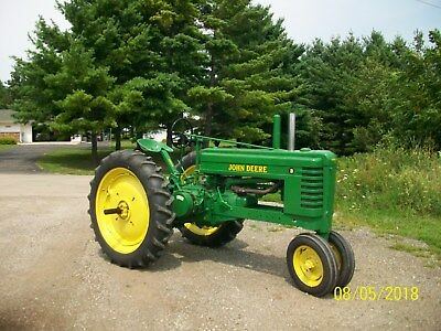 1941 John Deere B Antique Tractor NO RESERVE VERY NICE farmall oliver allis a g