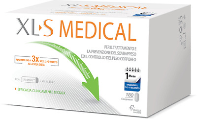 Xl-S Medical Liposinol 1 Mese Di Trattamento Integratore Alimentare 180 Compress