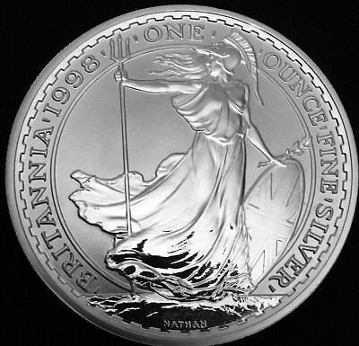 1oz SILVER BRITANNIA 1998 to 2018 CHOICE OF YEAR