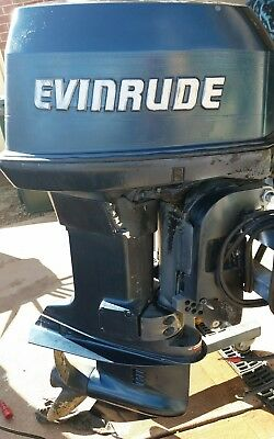 Evinrude 90hp V4 VRO Outboard Motor Need Gone ASAP