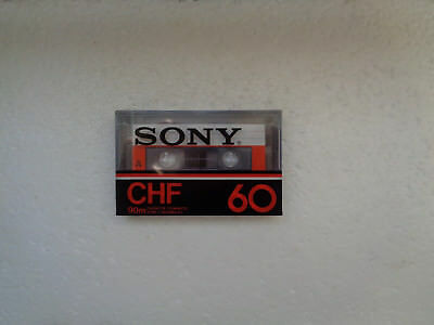 Vintage Audio Cassette SONY CHF 60 * Rare From France 1978 *