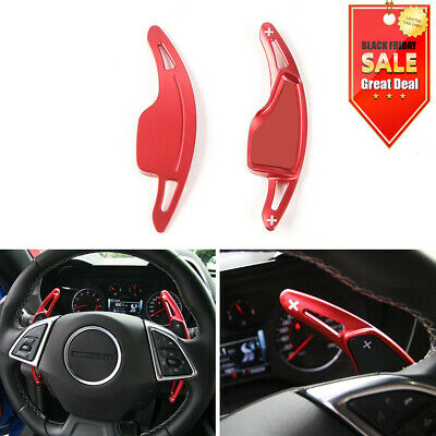 Car Steering Wheel Shift Paddle Shifter Trim Cover for Chevrolet Camaro 2017+ RE