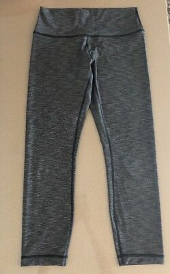 3bbc6e89ad66b Lululemon Athletica Wunder Under Hi-Rise 7/8 Leggings Yoga Size 10 Worn  Twice