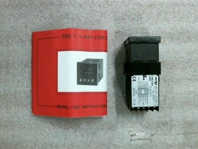 RED LION CONTROLS C48CS103 13052 C48 Series 6-Digit Counter -60 day warranty