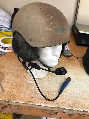 RACAL Combat Vehicle Crewman Helmet with Headset