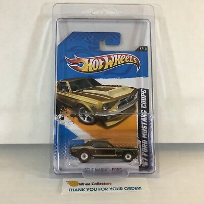 '67 Ford Mustang Coupe #116 * Super Treasure Hunt * Hot Wheels 2012 * F17