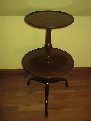 19th CENTURY REGENCY MAHOGANY CENTURY DUMB WAITER