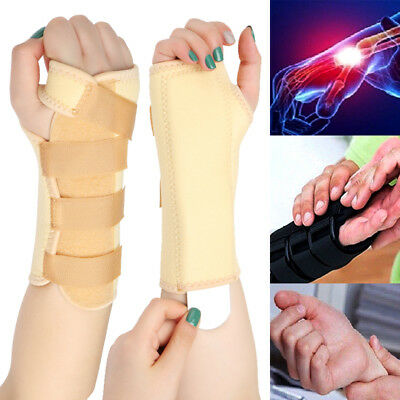 Wrist Support Splint for Pain Relief Carpal Tunnel Hand Brace Injury Band Unisex