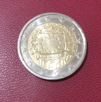 Germany - Federal Republic 2 Euro, 2013, Value and map EUROPEAN UNION