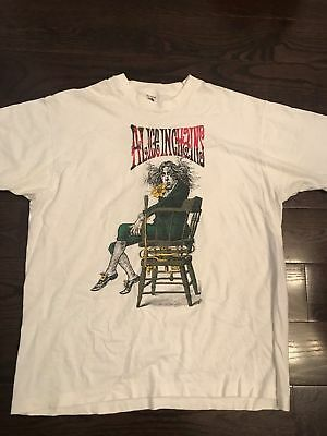 TOP RARE Alice In Chains Shirt Vintage tshirt 1990s Angry NEW GILDAN