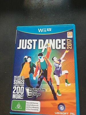 Just Dance 2017   Wii  U  Game   NEW   Complete PAL