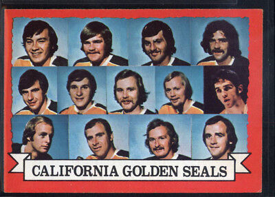 1973-74 Topps #95 Golden Seals Team DP - EX-MT *113-039