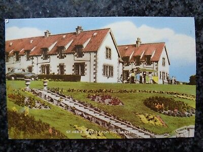 St Abbs Haven - Coldingham - Eyemouth - Berwickshire - Col Ptd Postcard Unused