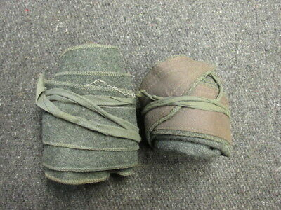 Pair Wwii Italian Army Puttees-Original-Hard To Find