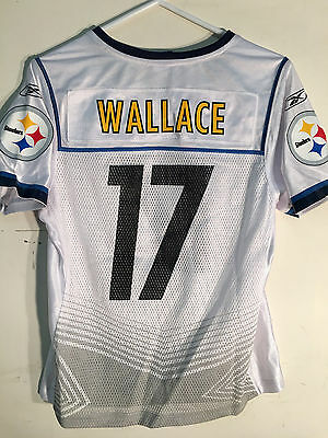 af15212f9 Reebok Women s NFL Jersey Pittsburgh Steelers Mike Wallace White Super Bowl  ...