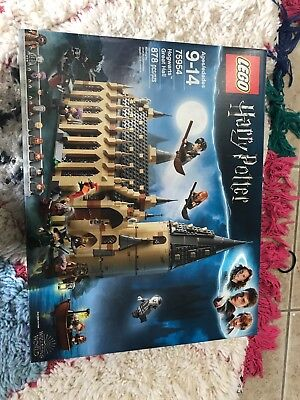 LEGO Harry Potter 75954 Wizarding World Hogwarts Great Hall New in Box 2018