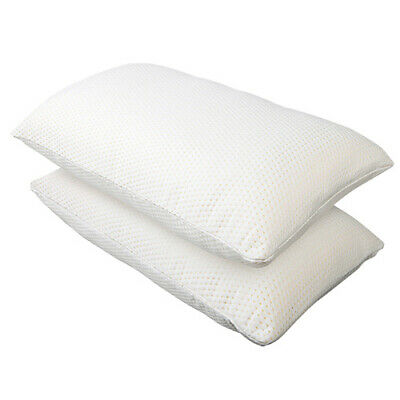 Set of 2 Memory Foam Pillow  Bedroom Sleep Head Neck Back Support Home Contour