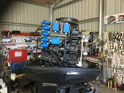 150 h.p. Force outboard motor fully rebuilt