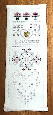 NANNAS CROSS STITCH CRAFT EMBROIDERY PROJECT EMBROIDERY SAMPLER Beautiful