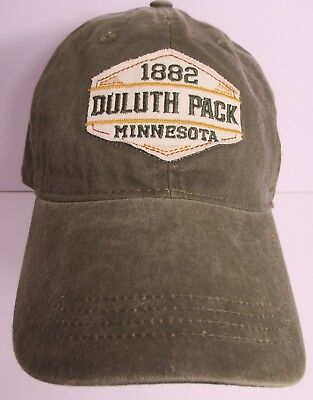 dad74bc61 Duluth Pack Minnesota Hat Cap USA Embroidery Prefade Distressed Unisex New