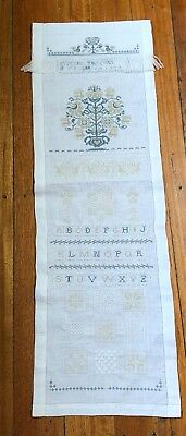Nannas Unframed Cross Stitch Craft Embroidery Project Embroidery Sampler