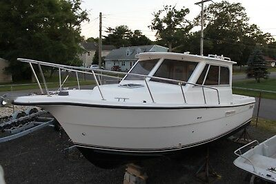 2005 Shamrock 270 Mackinaw Pilot House fishing boat Clean Title LOW RESERVE 05