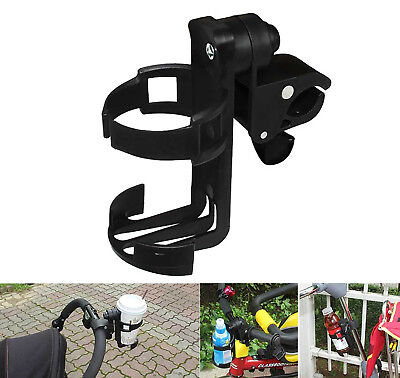 Universal Baby Stroller Pram Bicycle Bike Cup Drink Milk Bottle Holder Stand NEW