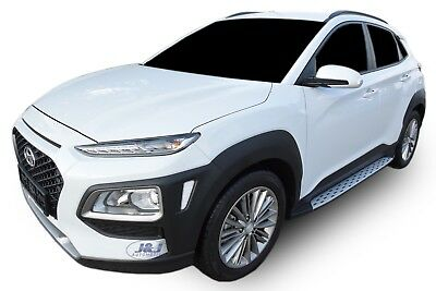 NEW Side steps Hyundai Kona 2017-up OE STYLE  Running Boards