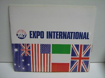 Perth America's Cup International Exposition- Paci Exposition-Wa Government Comm