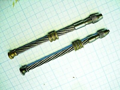 Lot 2 drille set Drilling outils horloger bijoutier Watch Tools jewelling tool 2