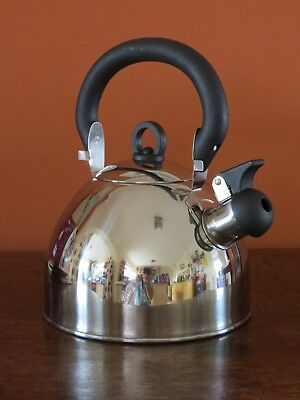 stainless steel whistling kettle Prima hob top 2.5 litre