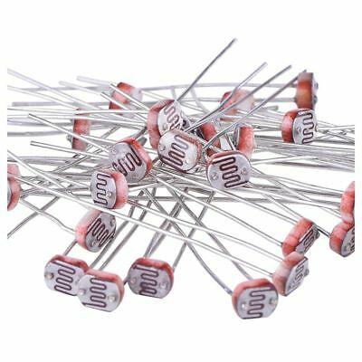 30 Pieces Photoresistor Photo Light Light Dependent Resistor 5 mm GM5539 X6P7