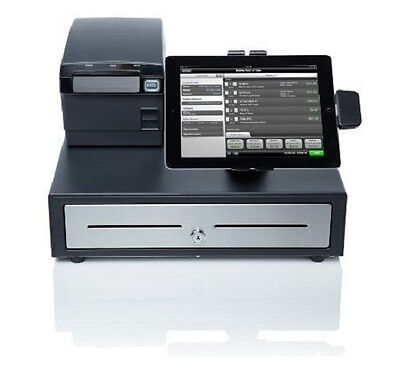 Brand New NCR Silver POS Cash Register System