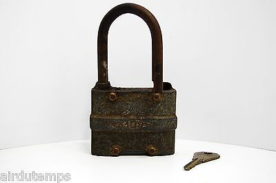 Beautiful Padlock Antique Efsa No.109