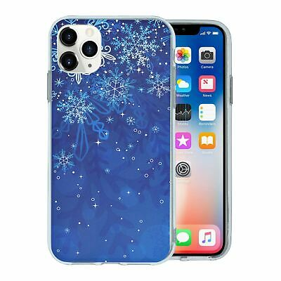 Silicone Phone Case Back Cover Winter Ice Snow - S4422