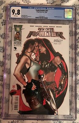 Tomb Raider 47 CGC 9.8 White Pages Adam Hughes