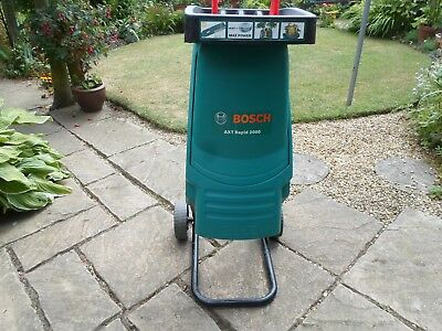 Bosch Axt Rapid 2000 Garden Shredder