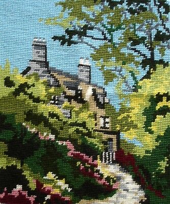 Penelope Completed Cross Stitch Tapestry Unframed Picture Cottage
