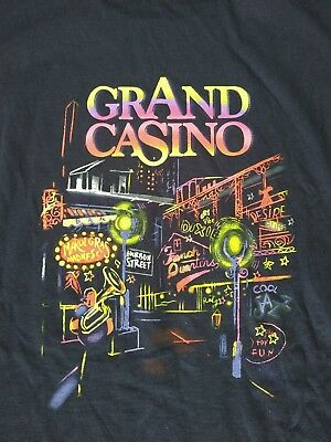 Grand casino mens blue t-shirt NEW size XL Biloxi