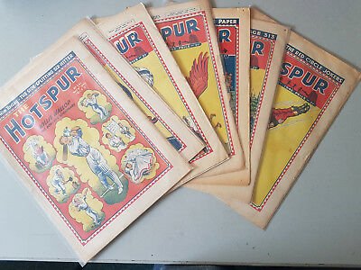 HOTSPUR COMIC - 8 issues from 1946 - D. C. Thomson