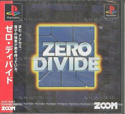 USED ​​PlayStation 1 ZERO DIVIDE