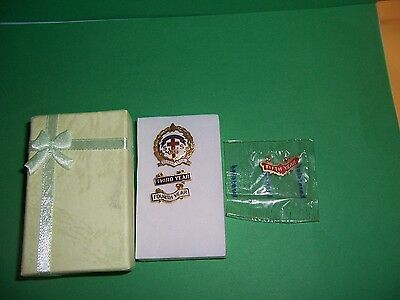 Reformed Sunday School Little System Cross & Crown Pin, 5 Yrs Bars Pin 10KGF