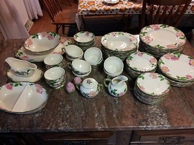 "Franciscan Ware-  ""1947-1953'-Desert Rose-.MADE in USA"