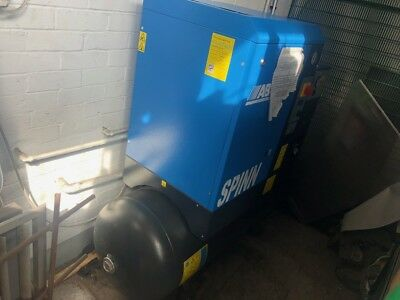 ABAC SPINN Screw Compressor 10 BAR, E 5.510 270 Liters With Dryer