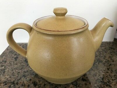 Vintage Ode by Denby Langley Ode Teapot Stoneware Made In England