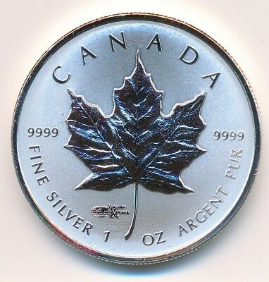 Canada 5 Dollars 1 Oz 2014 Privy Mark World Money Fair -  Proof .999 Silver
