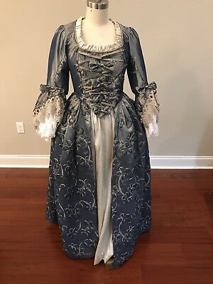 Rococo Marie Antionette Georgian Style Costume