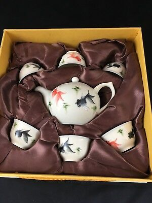 Beautiful and Delicate Porcelain Tea Set